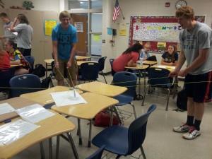 High school classroom workshop