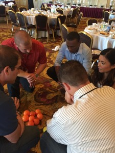 teambuilding at a conference Milwaukee