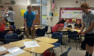 teamwork in classroom